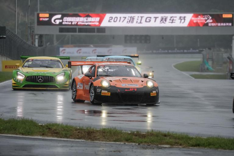 China GT: Porsche finishes second as Pan Chao and Andrew Tang win first-ever Porsche GT3 Cup Trophy China