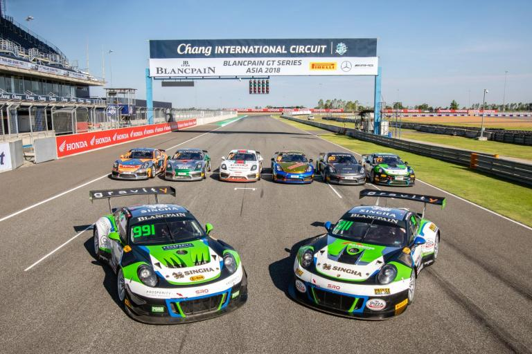 Triumphant weekend for JRM in China GT, and non-stop action in Buriram for Blancpain GT Series Asia