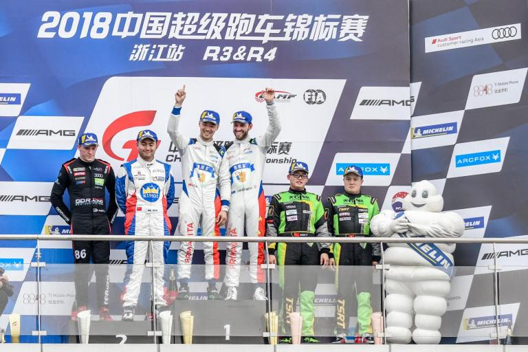 Team JRM take GT3 championship lead, as the Porsche Motorsport Asia Pacific customer outfit triumphs in China GT Zhejiang round