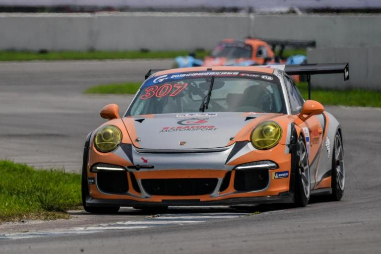 Five class podiums for Porsche entries in the Beijing China GT Championship round