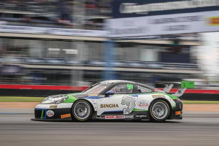 Porsche Motorsport Asia Pacific ready for season's biggest Blancpain GT Series Asia grid at Fuji