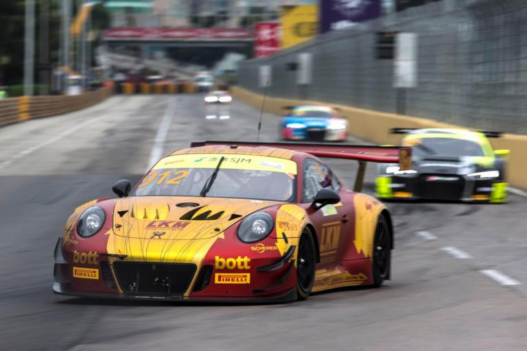 Porsche score fourth-place finish at 2018 FIA GT World Cup in Macau