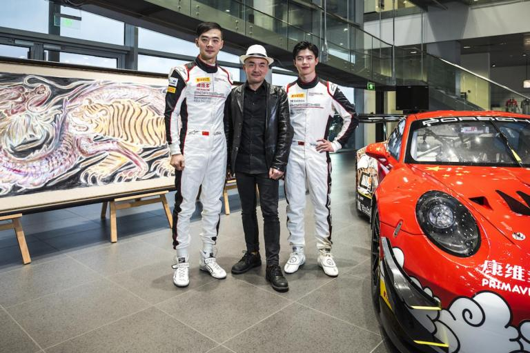 Team China looking forward to FIA GT Nations Cup battle in Bahrain with Porsche