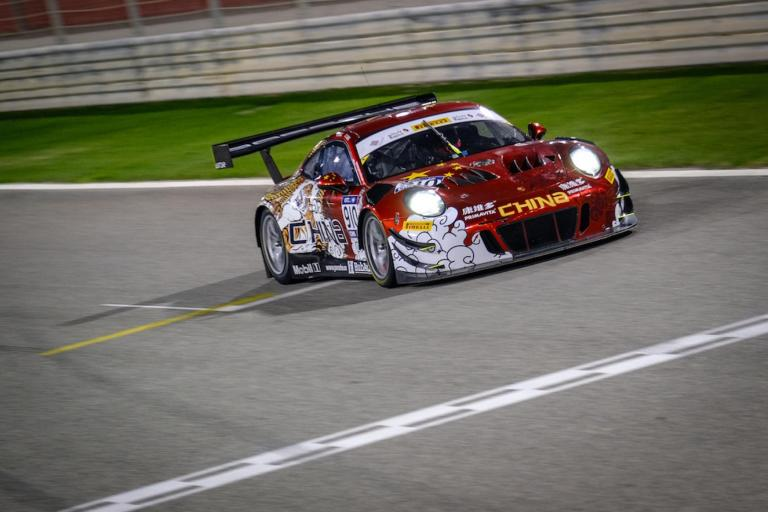 Strong performance for Team PR China and Porsche at the FIA GT Nations Cup in Bahrain