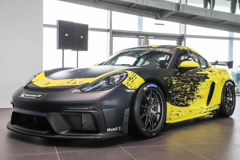 The New 718 Cayman GT4 Clubsport available to order now
