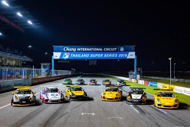 Porsche Sprint Trophy Thailand debuts in Thailand Super Series opener at Sepang