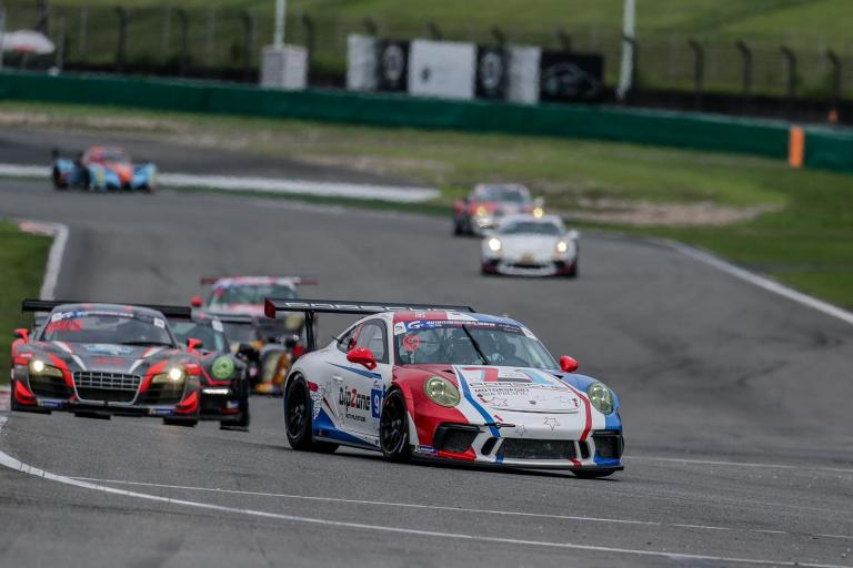 Podiums for Porsche Motorsport Asia Pacific customers in China GT Shanghai weekend