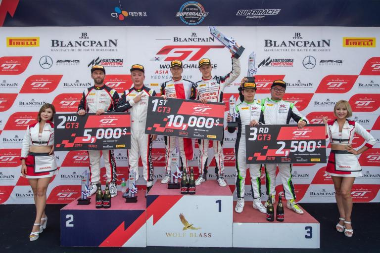 Porsche Motorsport Asia Pacific customer Absolute Racing secures Blancpain GT World Challenge Asia teams' title on winning weekend in Yeongam
