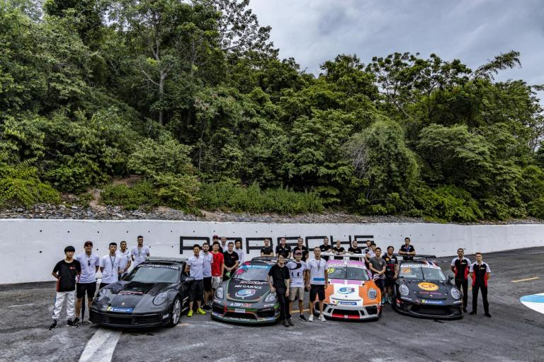 Porsche Motorsport Asia Pacific customers sweep Thailand Super Series GTC field in Bangsaen