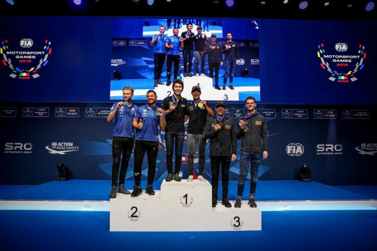 Team Australia scores FIA Motorsport Games GT Cup bronze medal with Porsche