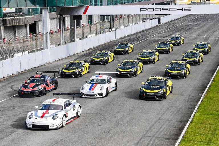 Porsche Sports Cup returns to Shanghai for momentous Porsche Sportscar Together Day and features motorsport debut of Chinese superstar Kris Wu