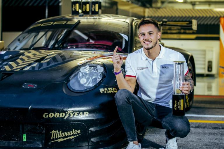 Porsche Motorsport Asia Pacific Selected Driver Alessio Picariello takes European Le Mans Series title in debut season