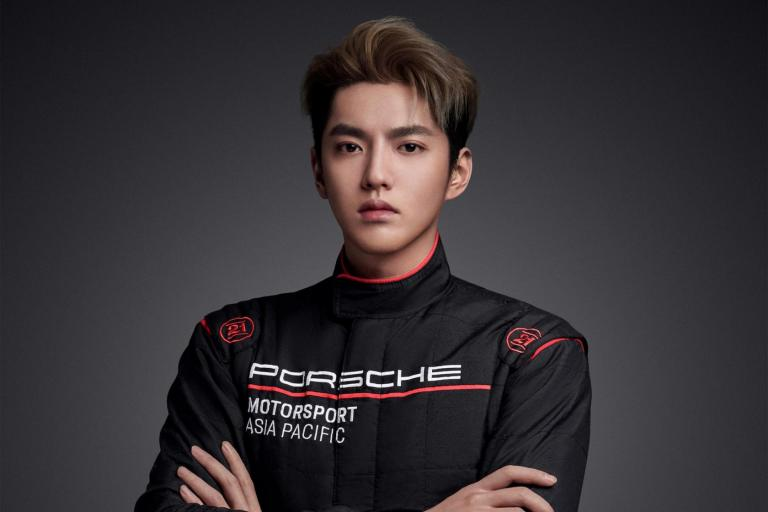 Kris Wu becomes the first Porsche China Motorsport Representative and sets eyes on Le Mans